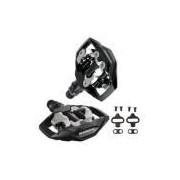 Pedal Clip Shimano Pd-m530 Preto Plataforma S/refletor C/taco Sh51 - Mtb