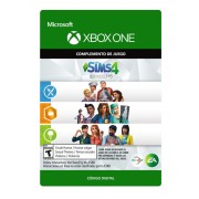 the sims 4 collection (get to work, dine out, cool kitchen stuff) xbox one
