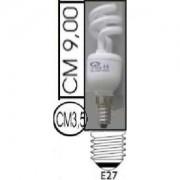 Lampada risparmio energetico 15W E27 Spiral Kapta