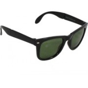 Mangal Brothers Wayfarer Sunglasses(Green)