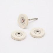 Polírfilc-szett 4 db/bliszter