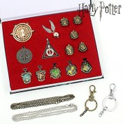 Pi² One Set Harry Potter Magic Wands Hermione Granger Lord Severus Snape Neville Wand Narvissa Dumbledore Quidditch Time Turner Toy