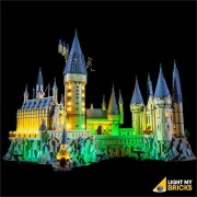 LIGHT MY BRICKS Kit for 71043 LEGO Hogwarts Castle