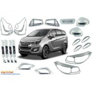 Car Chrome Accessories combo kit for Marrazo by Fireplay. Full Exterior car accessories (long-lasting chrome 23Pcs)