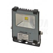 Tracon RSMDS10W LED-es, SMD fényvető, 10 W teljesítménnyel, szürke színben, 4500K színhőmérséklettel, IP65-ös védelemmel, 800 lm fényerővel