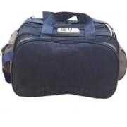 Aqeeq 4-5 Days Vintage Traveller on 2 Wheels Blue Grey Small Travel Bag - Medium(Blue, Grey)