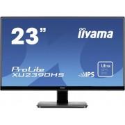 Iiyama XU2390HS-B1 LED-monitor 58.4 cm (23 inch) Energielabel A (A+ - F) 1920 x 1080 pix Full HD 5 ms HDMI, DVI, VGA IPS LED