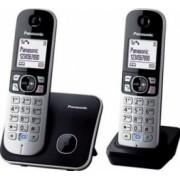 Telefon DECT TWIN Panasonic KX-TG6812FXB