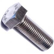 Hard-to-Find Fastener Tornillos de cabeza hexagonal de acero inoxidable, 3/8-24 x 1-Inch