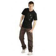 LITEX Kalhoty pánské dlouhé. 99548414 hnědá M