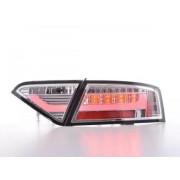 FK-Automotive LED fanali posteriori Lightbar Audi A5 8T Coupe/Sportback anno di costr. 07-11 cromato