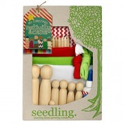 Create Your Own Nativity Scene By Seedling