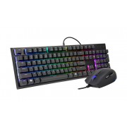 Cooler Master MasterSet MS120 USB QWERTY UK English Black