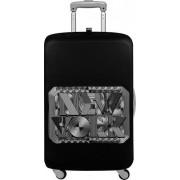 LOQI Pokrowiec na walizkę LOQI Type New York Retro