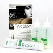 SPECCHIASOL Tricolor tinta per capelli n.8/73 Sabbia - Linea Homocrin - 2 trattamenti