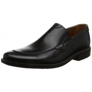 Clarks Men's Becken Step Black Leather Clogs and Mules - 9 UK/India (43 EU)