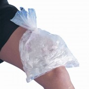 Clear Ice Bag: rollo de bolsas de plástico desechables para cubitos de hielo (1000 unidades)