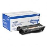 0 Brother TN3330 BK svart Lasertoner, Original