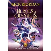 The Heroes of Olympus, Book Five the Blood of Olympus (New Cover), Paperback/Rick Riordan