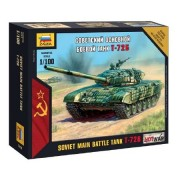 Zvezda Soviet Main Battle Tank T-72B makett 7400