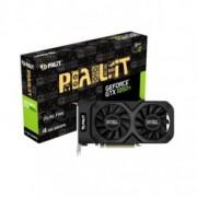 Видео карта Nvidia GeForce GTX 1050 Ti, 4GB, Palit GeForce GTX 1050 Ti Dual, PCI-E 3.0, GDDR5, 128 bit, Display Port, HDMI, DVI