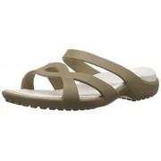 Crocs Meleen Twist Women Sandal in Khaki Size 8 UK