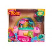 Trolls - Cutie de bijuterii cu efecte luminoase si sunete