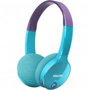 Philips Shk4000 Auricular Bluetooth Inalámbrico Para Niños-Purpura Y Azul