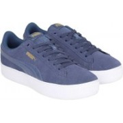 Puma Puma Vikky Platform Casuals For Women(Blue)