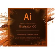 Subscriptie Adobe Illustrator CC, 1 an, 1 utilizator, Level 1, Limba Engleza