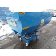 Masina de imprastiat ingrasaminte, MIG (azot) purtat Bufer 500litri,disc simplu hidraulic zincat,prelata