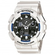 Часовник G-SHOCK - GA-100B-7AER White/Black