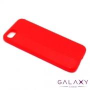 Futrola silikon CARBON LINE za Iphone 7/8/SE (2020) crvena