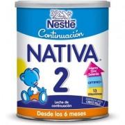 Nestle leche de continuación nativa 2, 800 gr