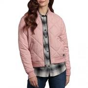 Dickies Women's Quilted Bomber Jacket, Lotus, Medium