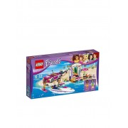 Lego Friends - Andreas Rennboot-Transporter 41316