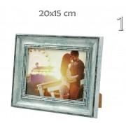 Fényképtartó fakeretes 15x20cm-es képhez A-172 3féle - Fényképtartó