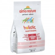Almo Nature Holistic Small Adult con Manzo e Riso - 2 x 2 kg