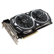 VGA MSI GeForce GTX 1080 ARMOR 8G OC / PCI-E / 8192MB GDDR5X / HDMI / DP / DVI / VR Ready