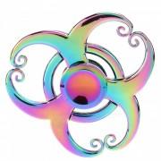 Dayspirit Rainbow 3-Iron estilo de la corona Fidget liberacion de la mano Spinner