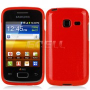 Samsung Galaxy Y Duos S6102 Силиконов Калъф Червен