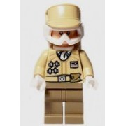 Lego Star Wars Minifigure: Hoth Rebel Trooper with blaster