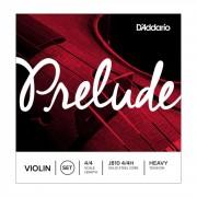 D'Addario Orchestral Cuerdas violín Prelude J810-4/4 Heavy Tension