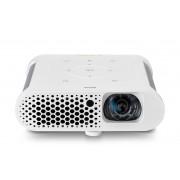 BenQ GS1 Videoproiettore LED Portatile, USB e Bluetooth Integrati, Wireless Display, Arancio