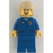 cty1067 Minifigurina LEGO City-Astronaut fata cty1067