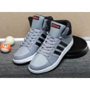 ADIDAS NEO VS HOOPS MID Sneakers For Men(Grey)