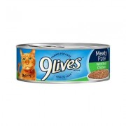 9 Lives Meaty Pate with Real Chicken Canned Cat Food, 5.5-oz, case of 24