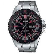 Casio Enticer Analog Black Dial Mens Watch - Mtd-1078D-1A1Vdf (A913)