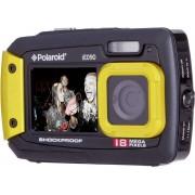 Polaroid IE90 Digitalkamera 18 Megapixel Svart-gul Undervattenskamera, Dammskyddad, Frontdisplay