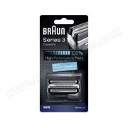 BRAUN Tête de rasoir Cassette rasoir 32 S Silver Série 3